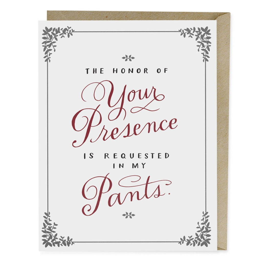 The honor of your presence card emily mcdowell studio stopboris Gallery
