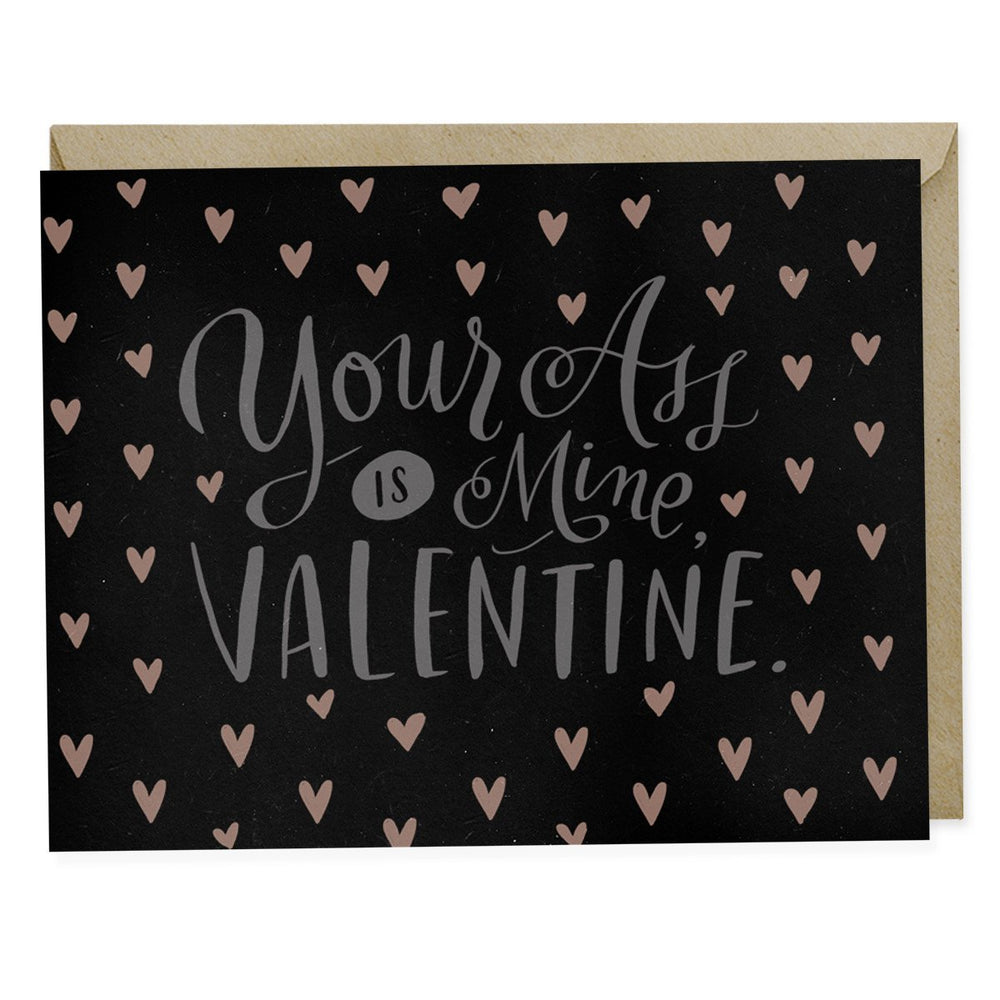 Your Ass Is Mine, Valentine Card