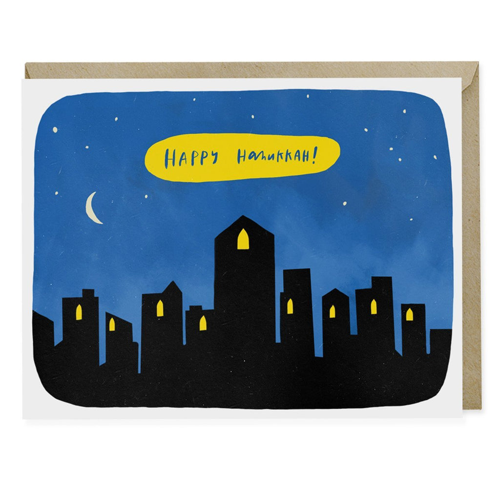 Hanukkah City Holiday Card