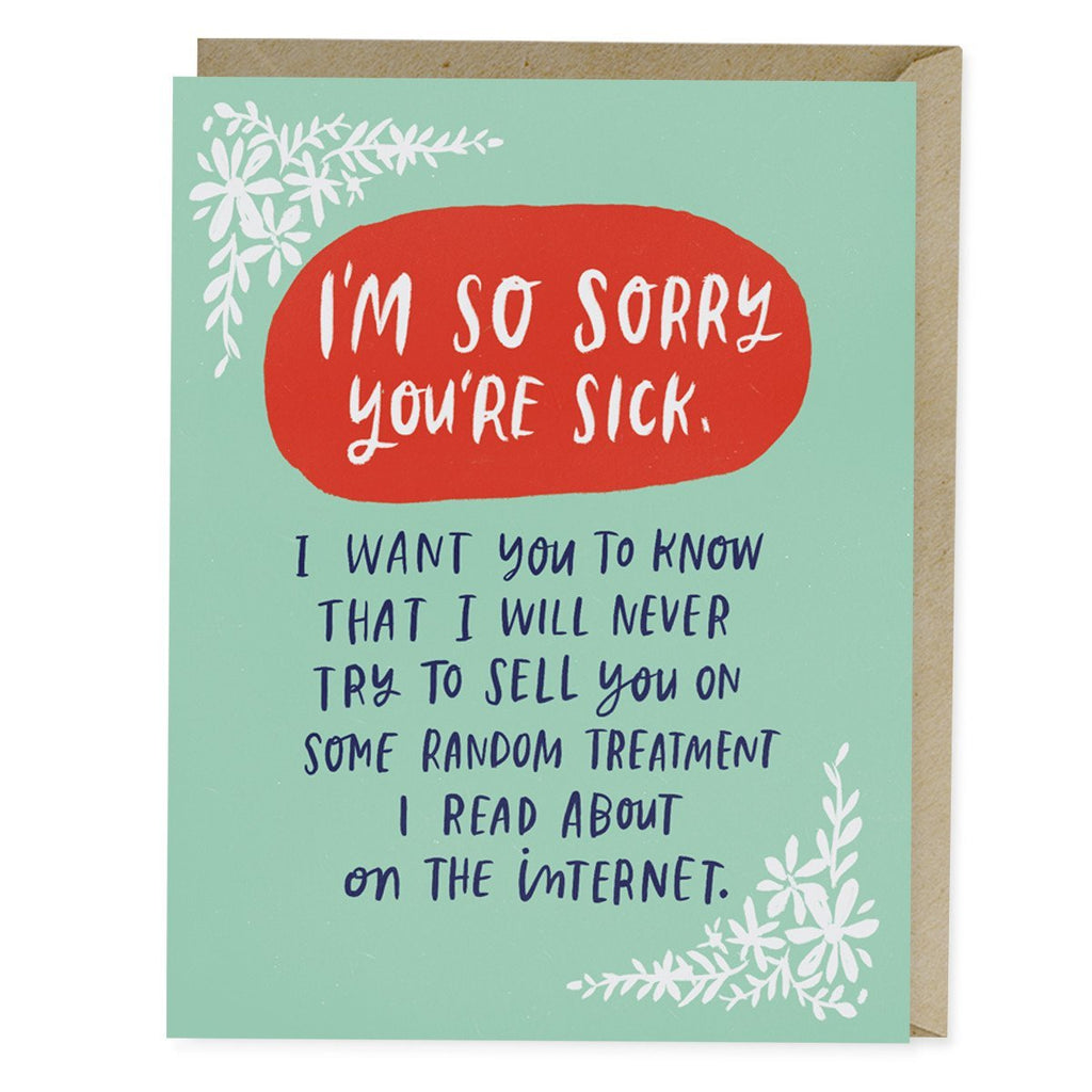 Emily McDowell Treatment on the Internet Empathy Card