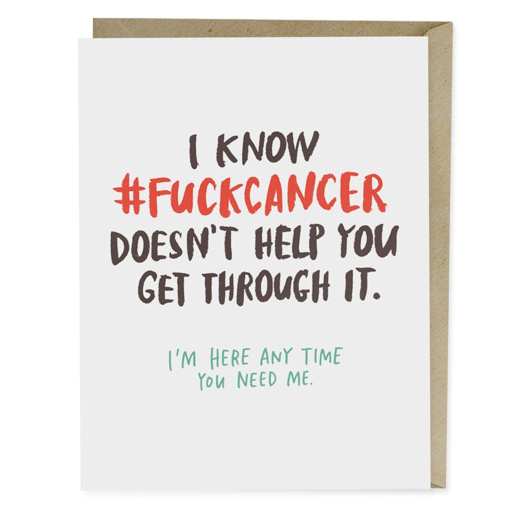 Empathy Card: #FUCKCANCER Doesn't Help