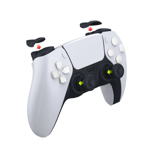 Controller Trigger and Thumbstick Extender - Compatible with PS5® DualSense® Controller