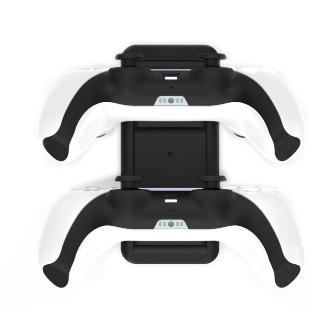 Low Profile Dual Charger Station For PS5 DualSense Controller