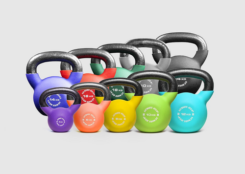 Fitness Kettlebells from Xenios USA