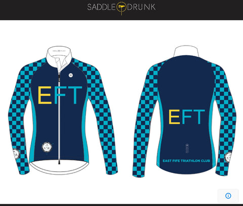 EFT Long Sleeve Cycle Jersey