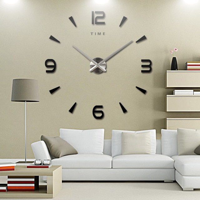 Large Wall Clock Home Decor