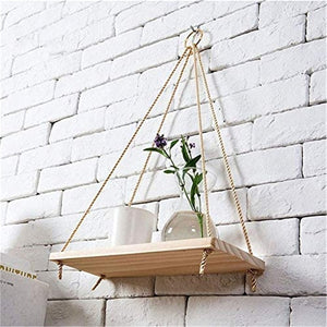 Hanging Wooden Shelves