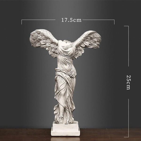 Europe Style Victory Goddess Resin Ornaments
