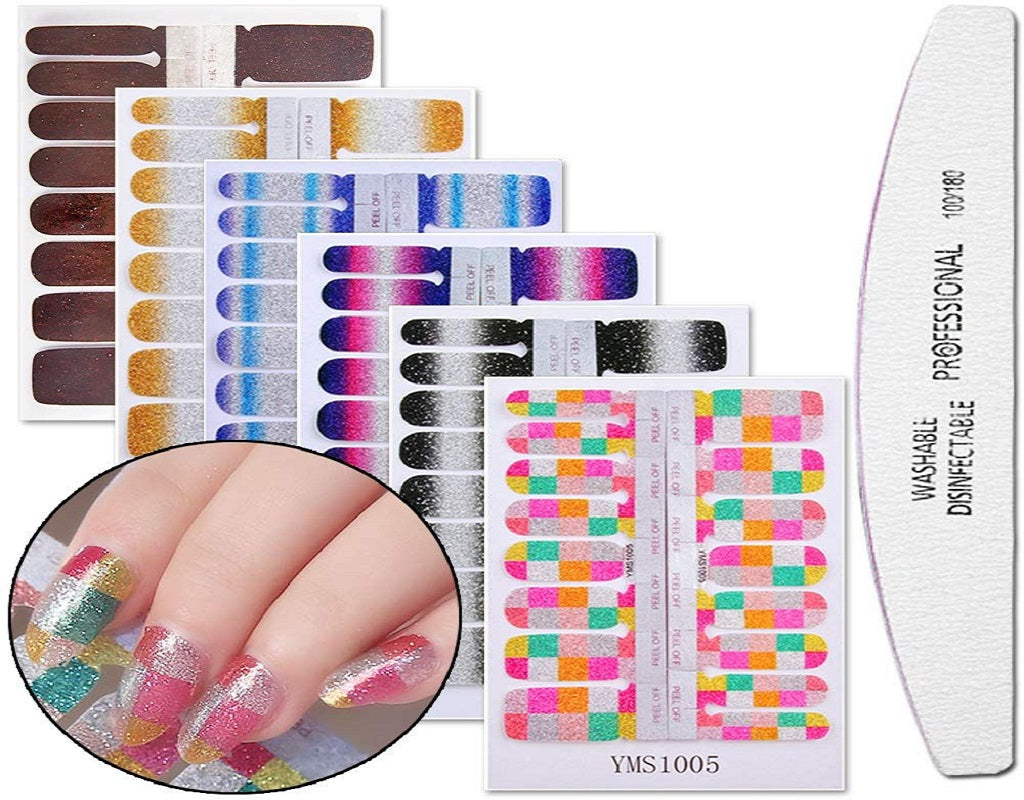 The 10 Best Nail Polish Strips Reviews 2021