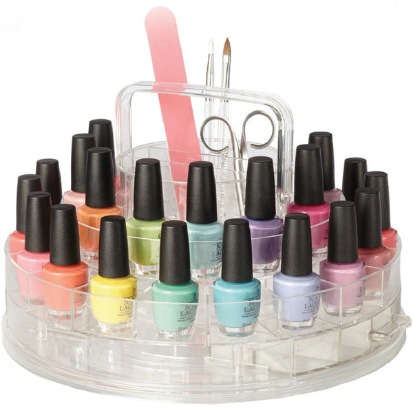 3 Tiers Acrylic Display Stands for Nail Polishes, essential oils, lipsticks