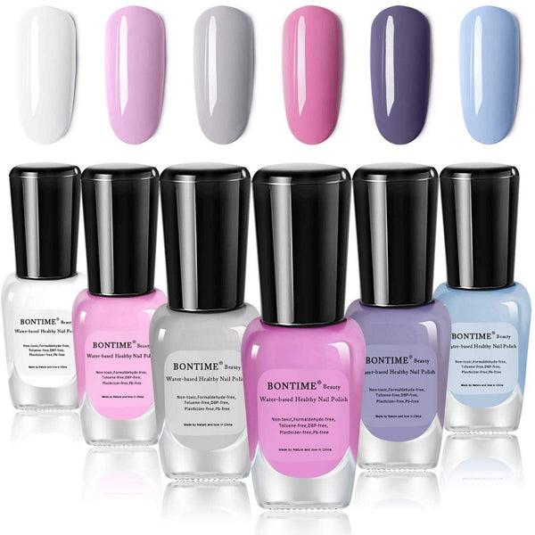 BONTIME Easy Peel Off & Quick Dry Water-Based Nail Polish