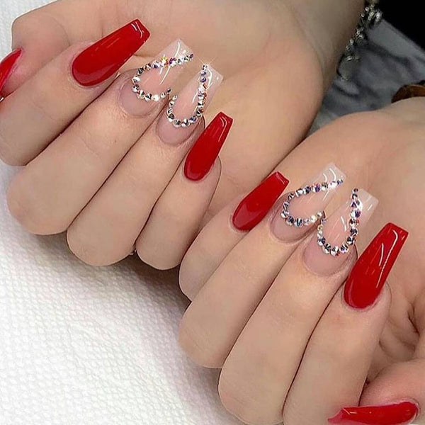 Bling Design in Circus Red for Bold Girls
