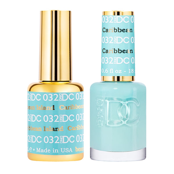 DND DC Collections Gel + Lacquer Combo 032 Caribbean Island