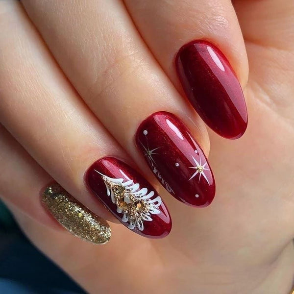 Decoration Tree Nails for Christmas