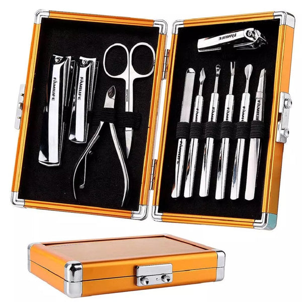 FAMILIFE L05 Stainless Steel Manicure and Pedicure Kit