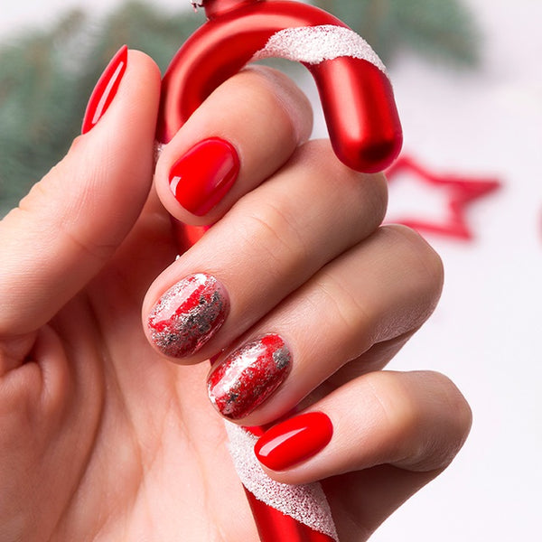 Fiery Red Nail Trend