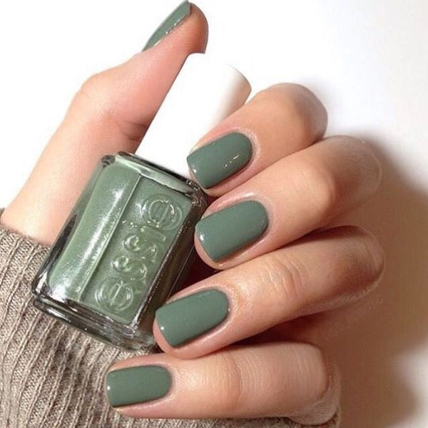 Green Color Summer Nail Trends