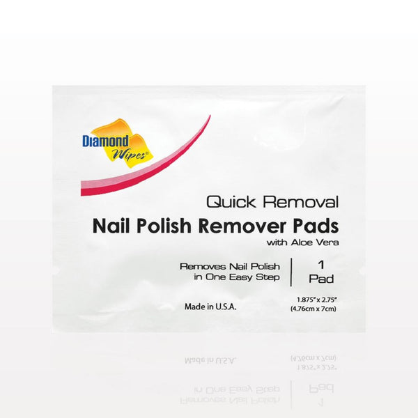 Nail Polish Remover Pads by Diamond Wipes