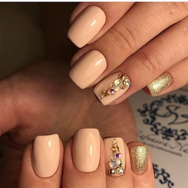 Neutral Tones on Princess Style Manicure
