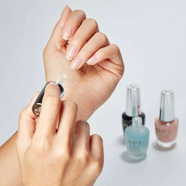 Paint a Base Coat on your nails