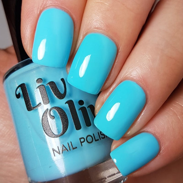 Turquoise Nail Color