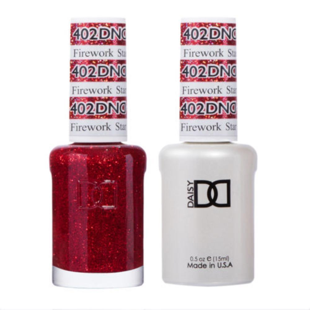 DND 402 Firework Star Gel & Matching Polish Set - DND Gel & Lacquer