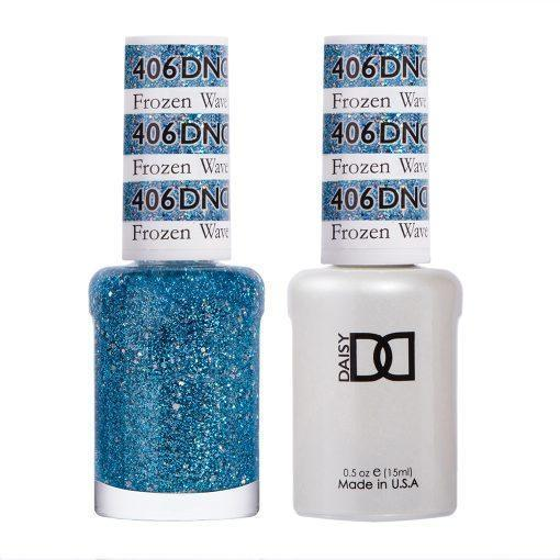 DND 406 Frozen Wave - Gel & Matching Polish Set - DND Gel & Lacquer