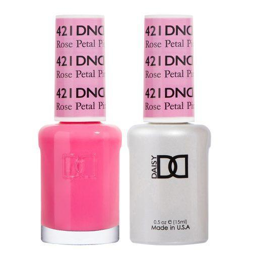 DND 421 Rose Petal - Gel & Matching Polish Set - DND Gel & Lacquer