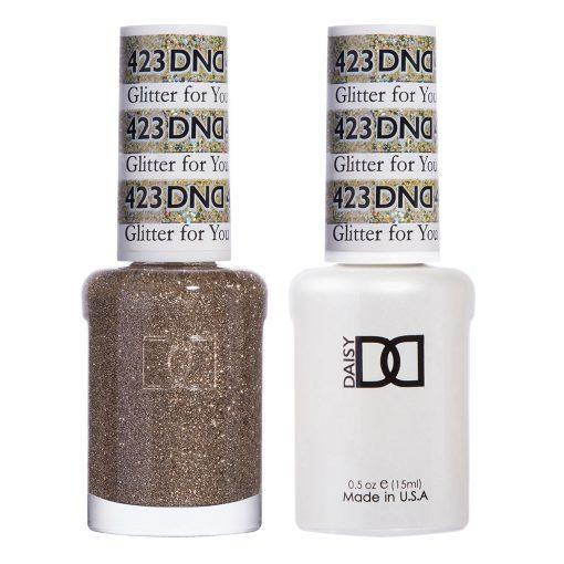 DND 423 Glitter For You - Gel & Matching Polish Set - DND Gel & Lacquer