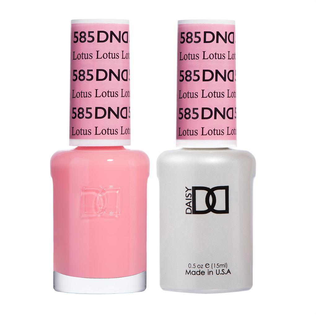 DND 585 Lotus - DND Gel Polish & Matching Nail Lacquer Duo Set - 0.5oz