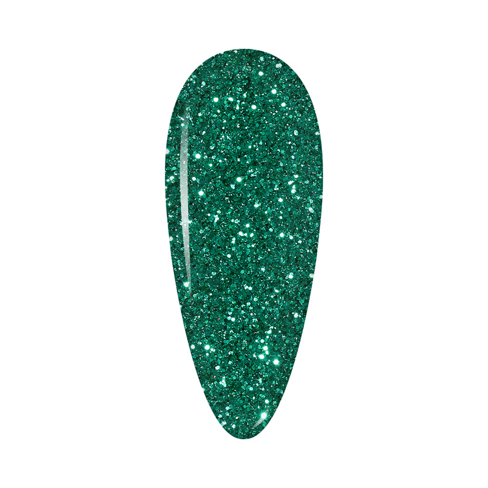 LDS Holographic Fine Glitter Nail Art - DB11 - Forest 0.5 oz