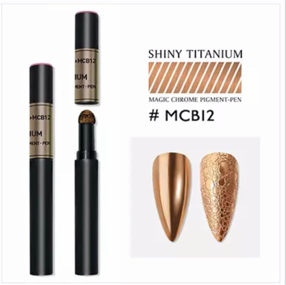 New Nail Art Air Cushion Powder Pen Design-MCB12