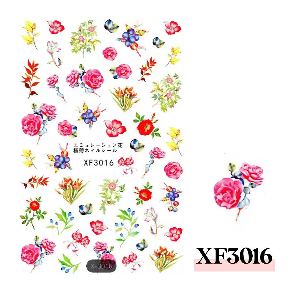 3D Nail Sticker-XF3016