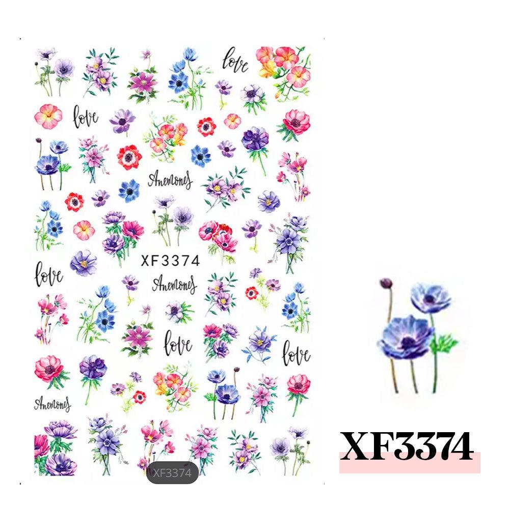 3D Nail Sticker-XF3374