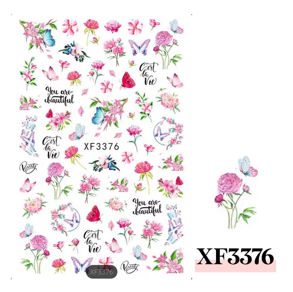 3D Nail Sticker-XF3376