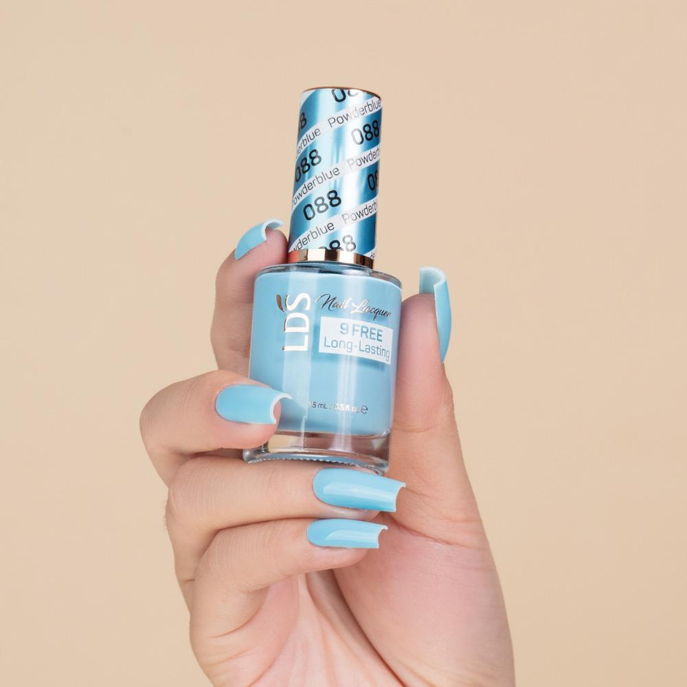 LDS 3 in 1 - 088 Powderblue - Dip (1.5oz), Gel & Lacquer Matching