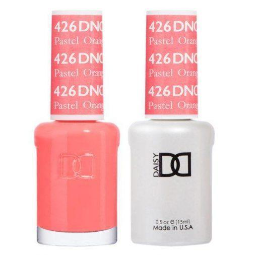 DND 426 Pastel Orange - Gel & Matching Polish Set - DND Gel & Lacquer