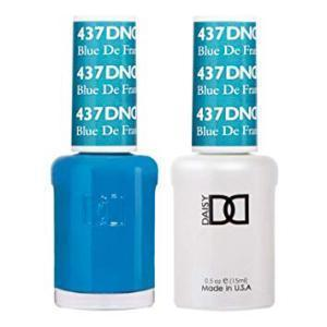 DND 437 Blue De France - Gel & Matching Polish Set - DND Gel & Lacquer
