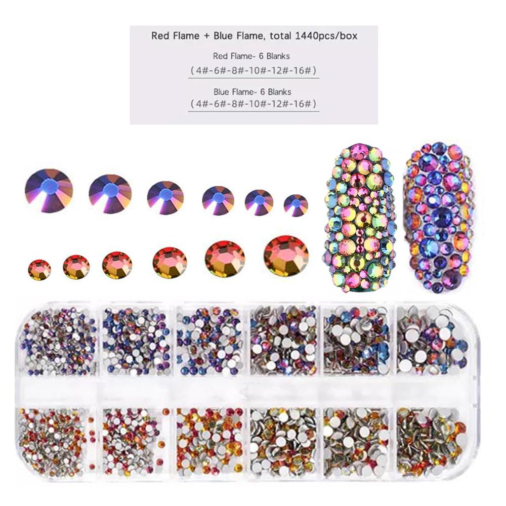 LDS Rhinestones For Nail Art 8