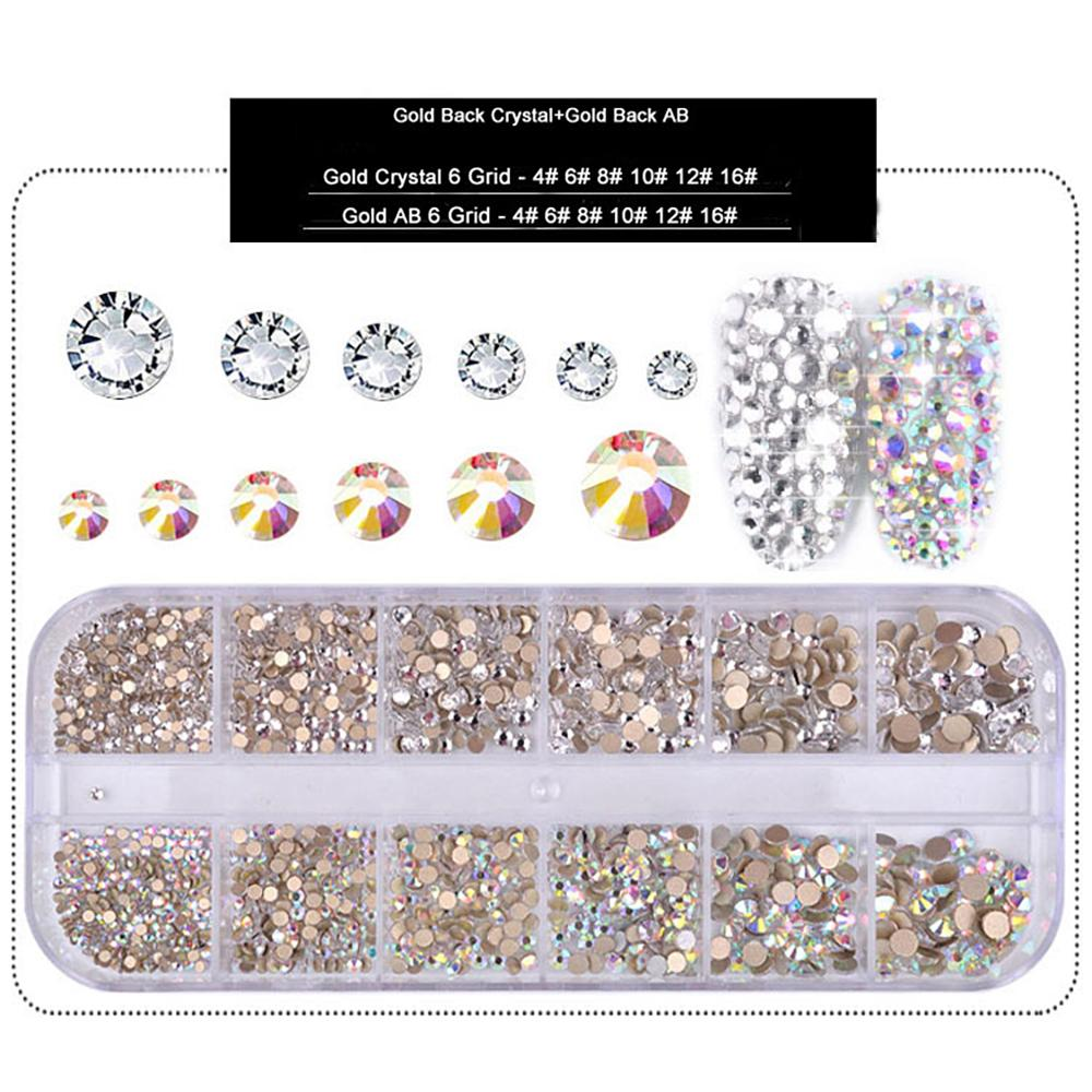 LDS Rhinestones For Nail Art 4