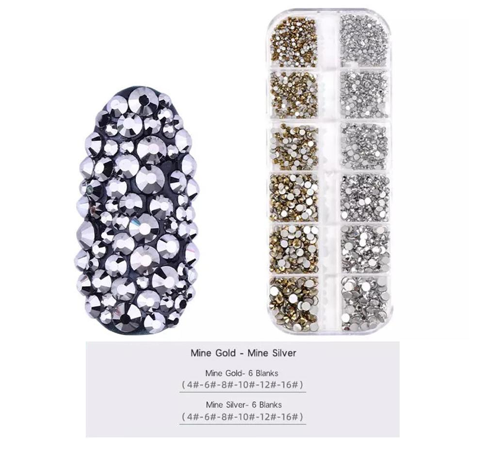 LDS Rhinestones For Nail Art 5