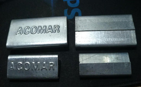 logo on steel strapping seal