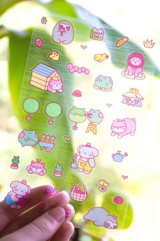 Summer Sticker Sheet
