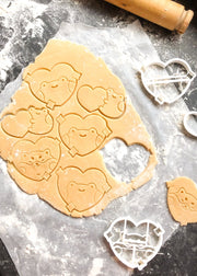 Valentine's Cookie Cutters