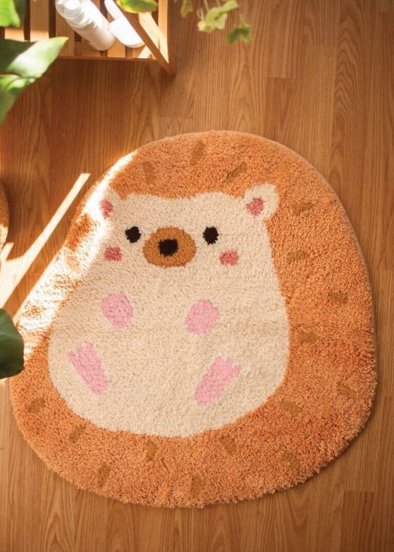 Heji Hedgehog Rug