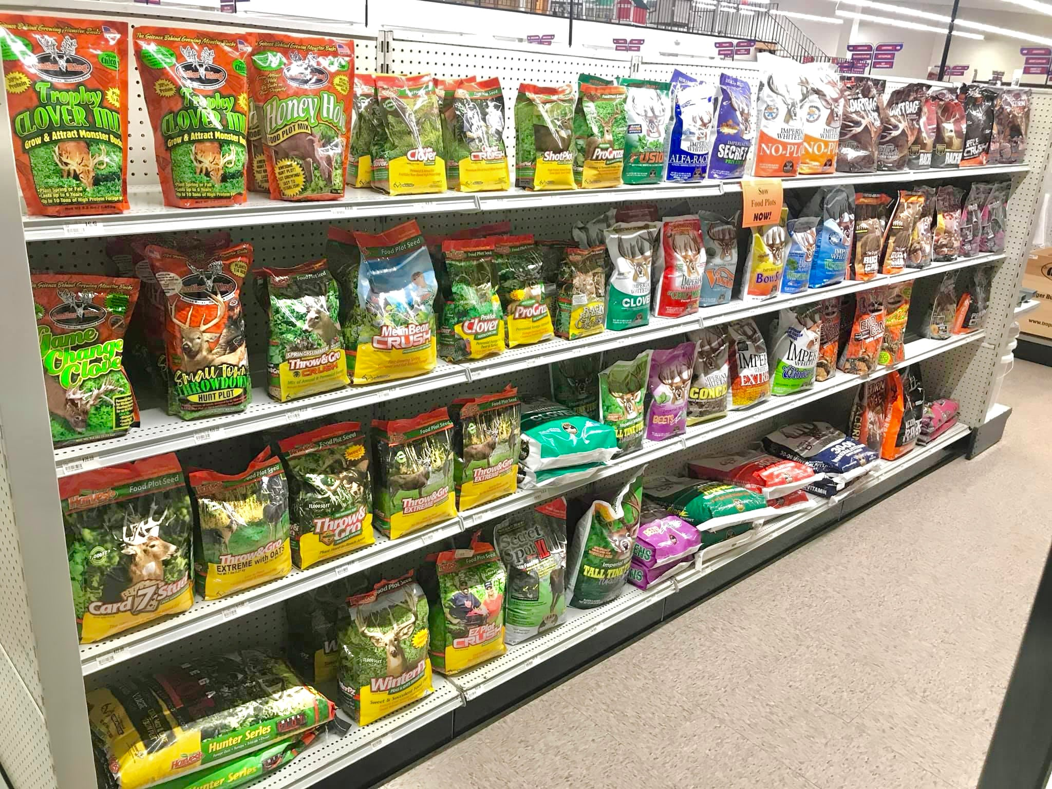 photo of wildlife products we have for sale