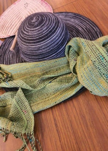 Cotton Mix Scarf - Green