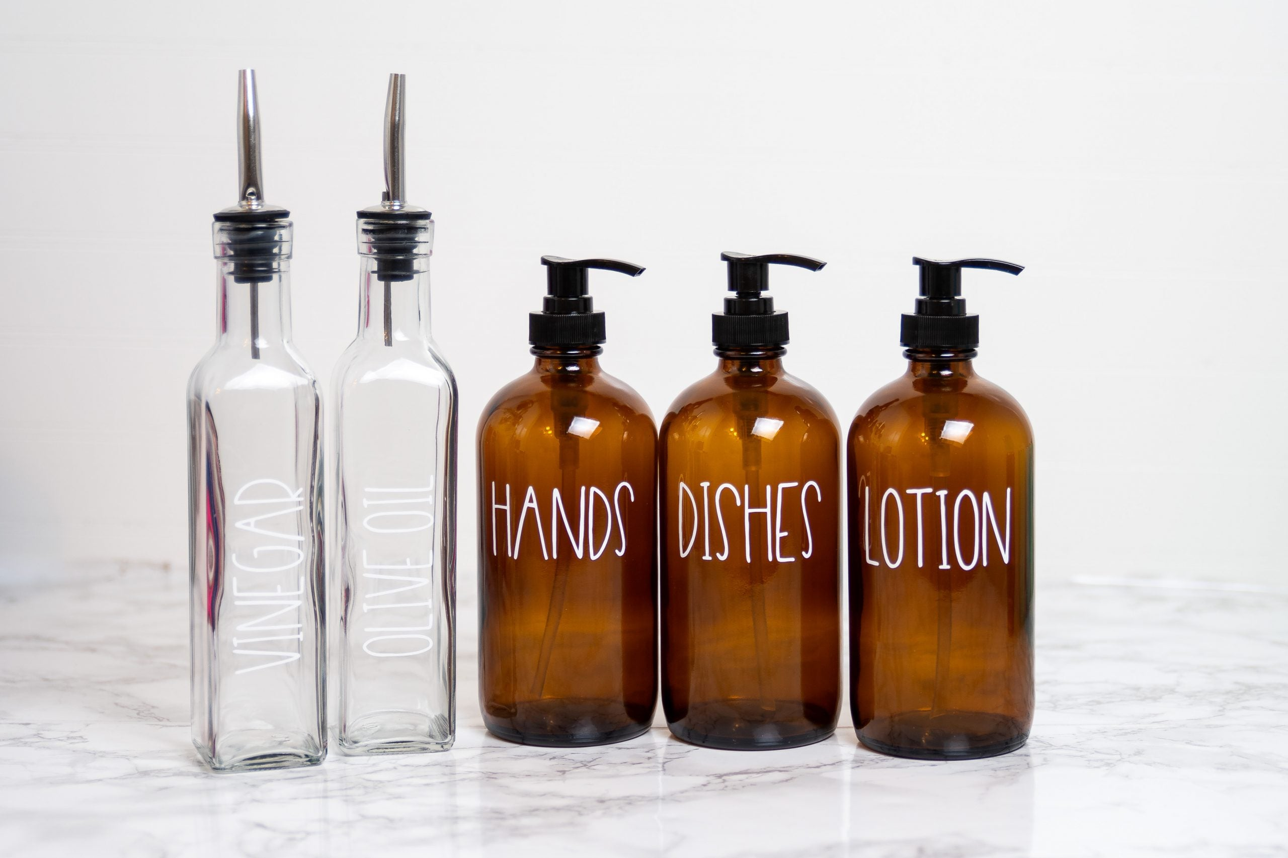 Farmhouse Bottle Bundles - Amber