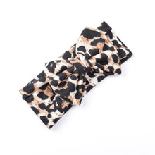 Load image into Gallery viewer, Classic Headbands For Girls Children's Hairband Baby Leopard Hair Band Stretch Bow Hair Accessories