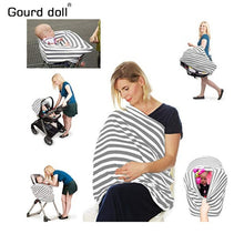 Load image into Gallery viewer, Gourd Doll Nursing Breastfeeding Privacy Cover Baby Scarf Infant Car Seat Stroller Breast Feeding Scarf Nursing Covers